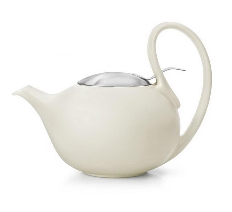 Заварочный чайник Bredemeijer Jasmin, 0.9л., кремовый