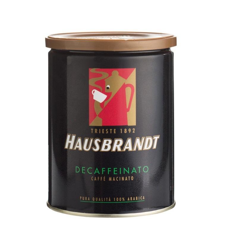 Хаусбрандт Без кофеина 250 грамм ж.б.