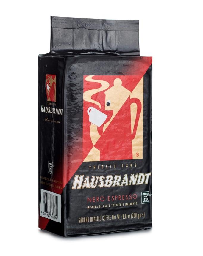 Хаусбрандт Неро молотый 250 грамм в.у.