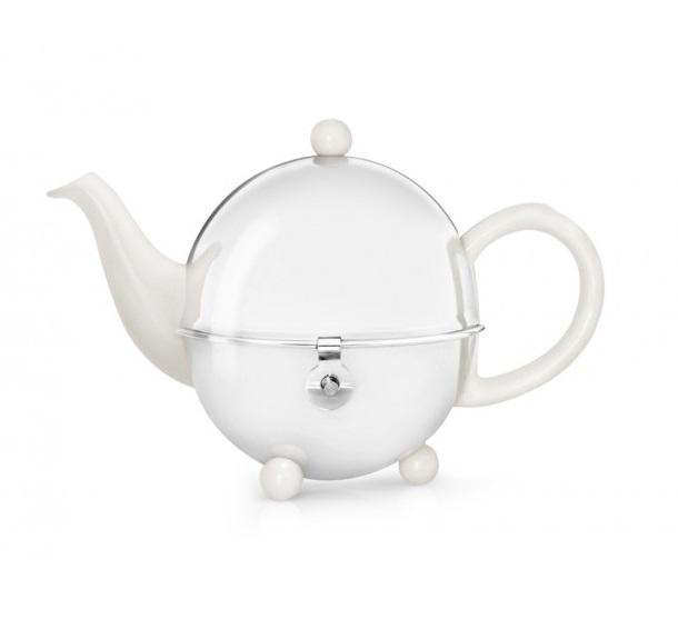 Чайник заварочный Bredemeijer Cosy, 0,5 л., белый