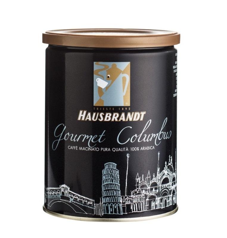 Хаусбрандт Колумбия молотый 250 грамм ж.б.