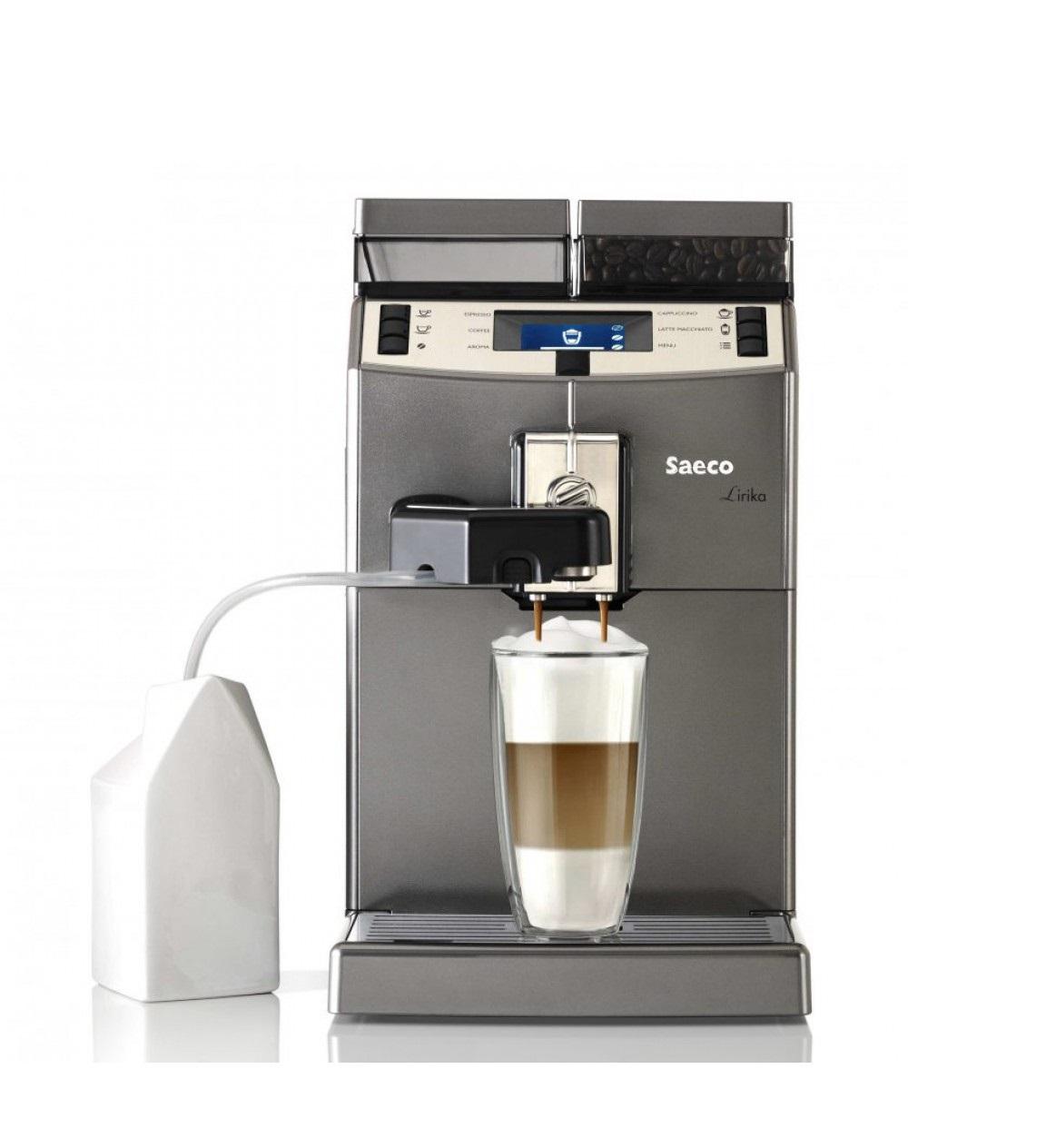 Автоматическая кофемашина Saeco Lirika One Touch Cappuccino.