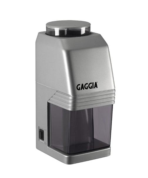 Кофемолка электрическая жерновая Gaggia MM, серебристая