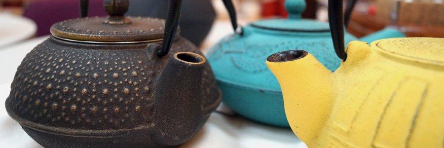 Чугунные чайники