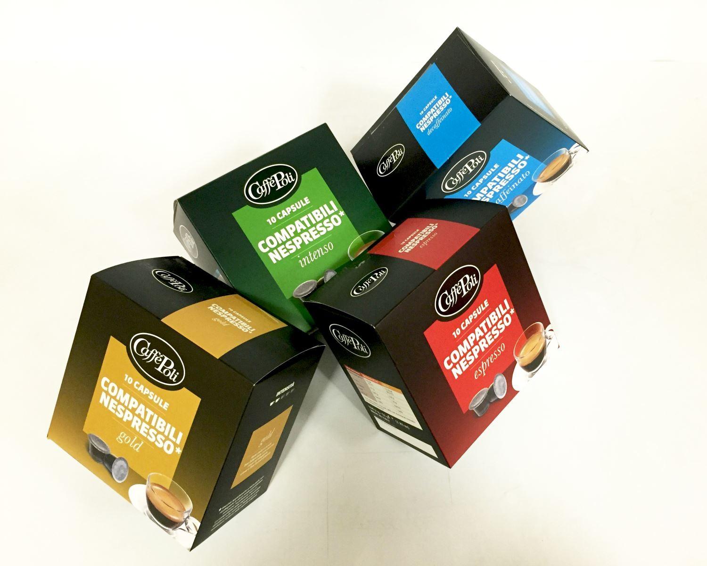Кофе в капсулах Caffe Poli стандарта Nespresso