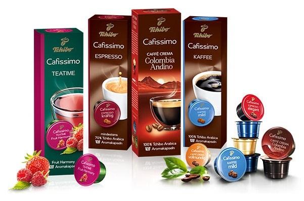 Кофе в капсулах Tchibo Cafissimo