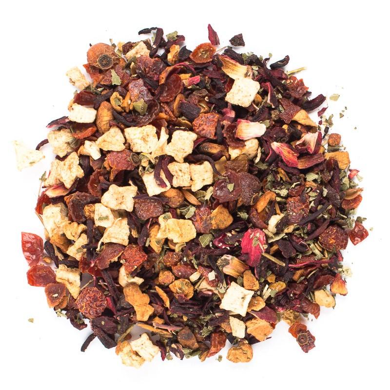 Чай фруктовый Ronnefeldt Клубника со сливками