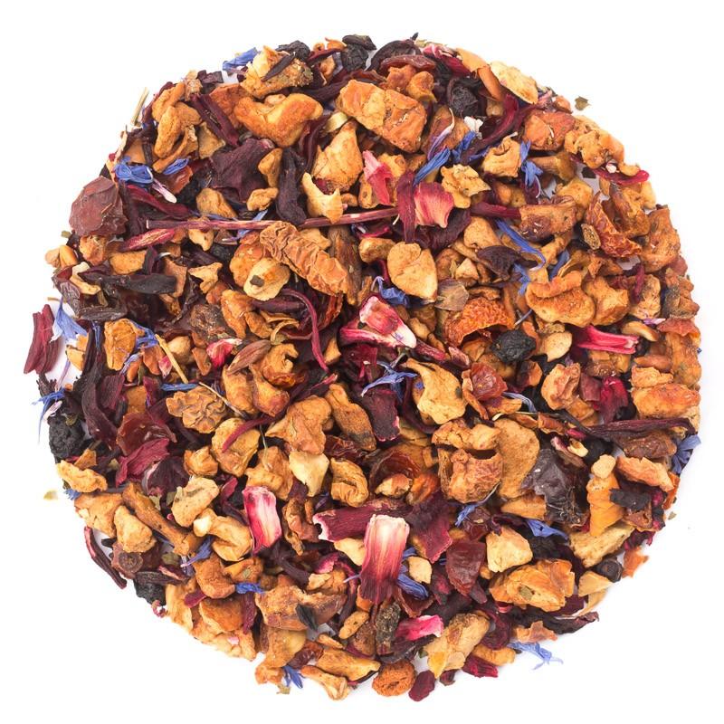 Чай фруктовый Ronnefeldt Черника со сливками