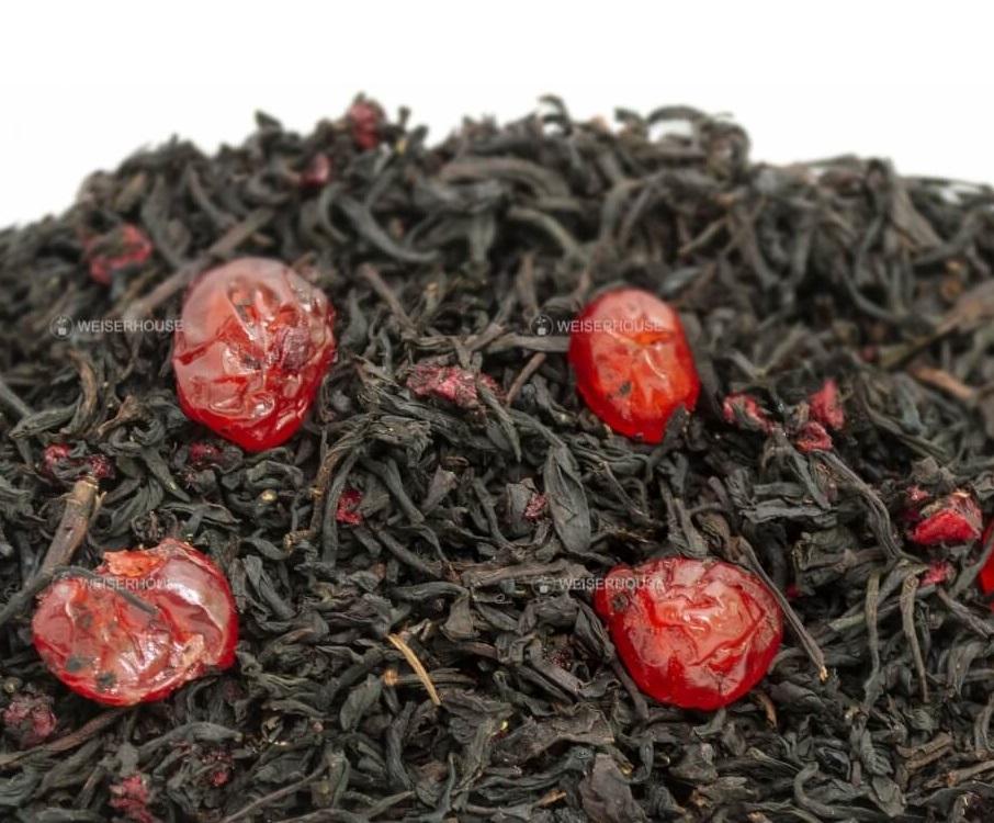 Чай Grunberg «Вишня» (чёрный ароматизированный), упаковка 250 гр