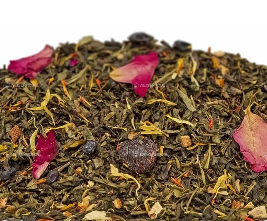 Чай Grunberg «Девять Драконов» (зеленый ароматизированный), упаковка 250 гр