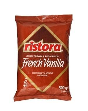 Ristora напиток растворимый капучино со вкусом ванили