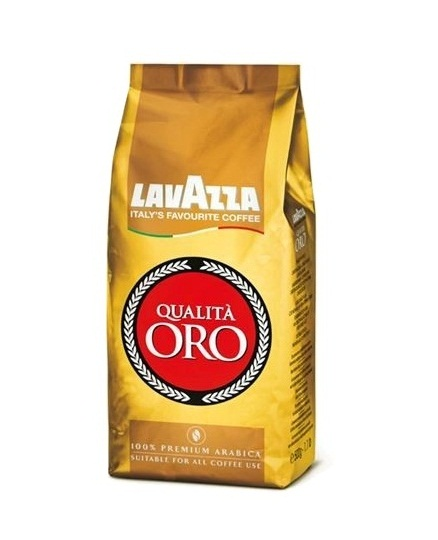 Кофе в зернах Lavazza Qualita Oro 0,5 кг.