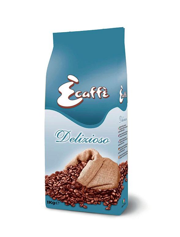 Кофе в зернах Ecaffe Delizioso 1,0 кг.