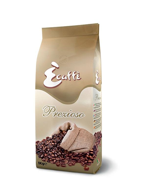Кофе в зернах Ecaffe Prezioso 1,0 кг.