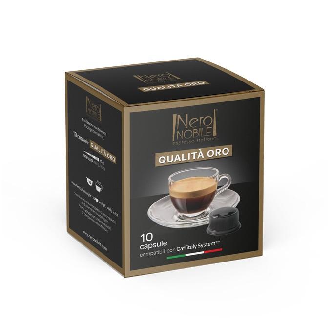 Кофе в капсулах Neronobile Qualita Oro