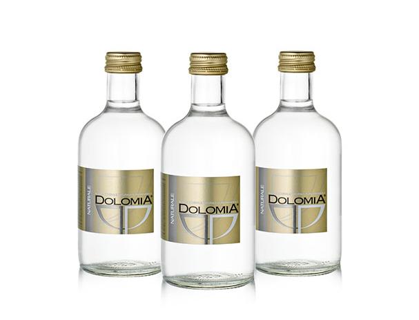 Минеральная вода Dolomia Exclusive, стекло, 0.33л, без газа