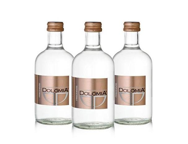 Минеральная вода Dolomia Exclusive, стекло, 0.33л, газированная