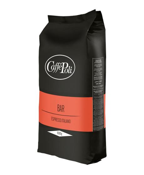 Кофе в зернах Caffe Poli Bar 1,0 кг