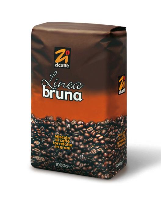 Кофе в зернах Zicaffe Linea Bruna 1,0 кг.