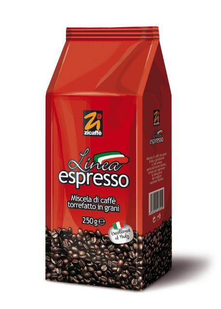 Кофе в зернах Zicaffe Linea Espresso 1,0 кг.