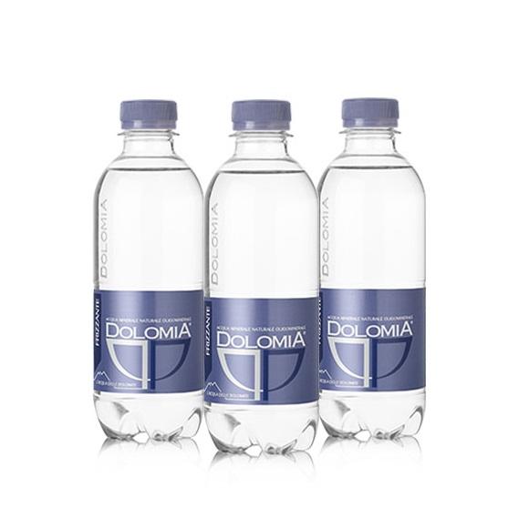 Минеральная вода Dolomia Elegant, пэт, 0.33л, газированная