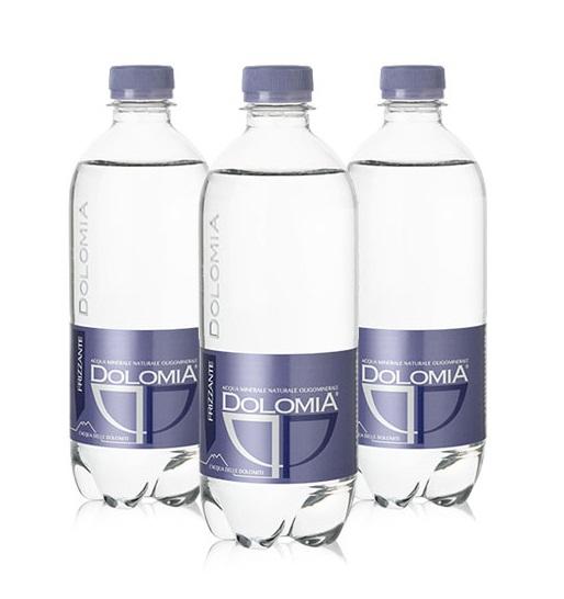 Минеральная вода Dolomia Elegant, пэт, 0.5л, газированная