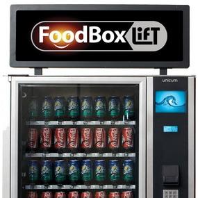 Рекламный короб Лайтбокс для Unicum FoodBox и FoodBoxLift