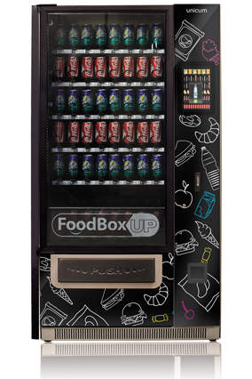 Foodbox Lift Touch, автоматы по продаже штучных товаров