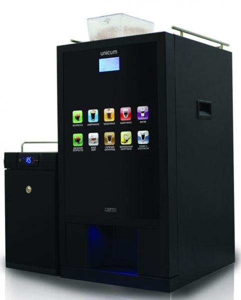 Unicum Nero Fresh Milk Touch, кофейный автомат