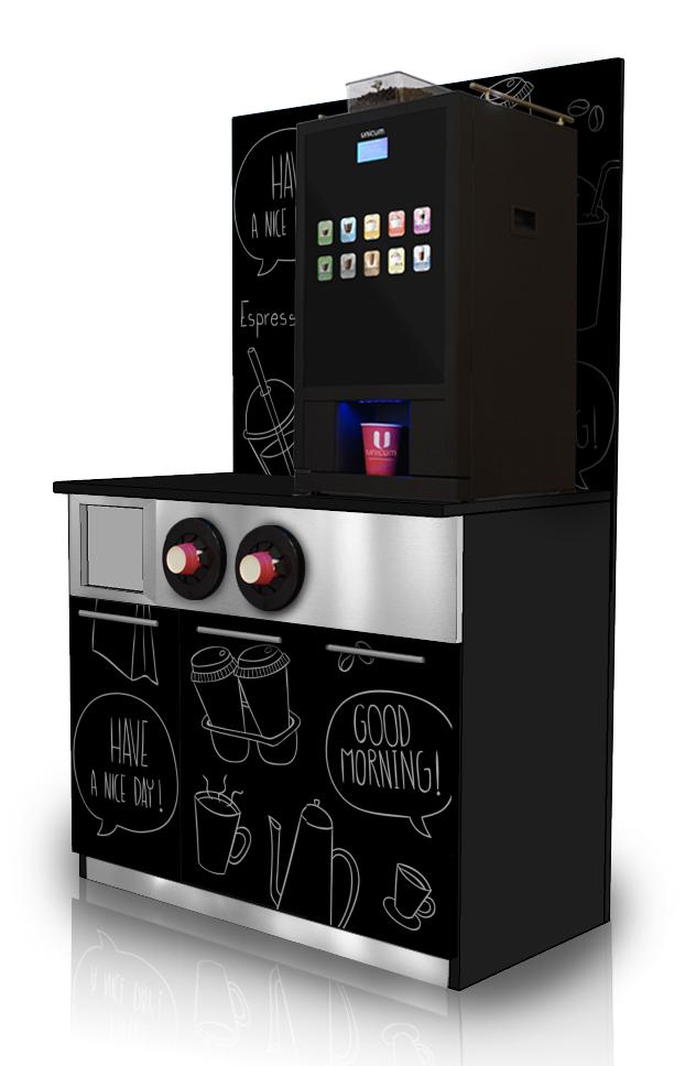 Unicum Nero Unit Horeca, кофейный уголок.