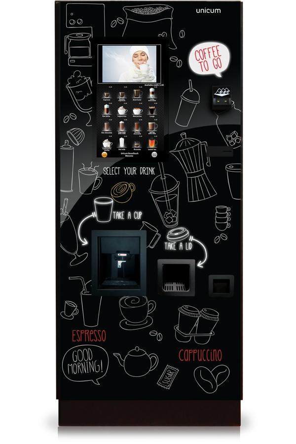 Unicum Rosso Touch to go, кофейный автомат