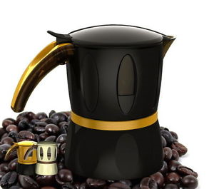 Гейзерная кофеварка Mamy Moka, 160мл