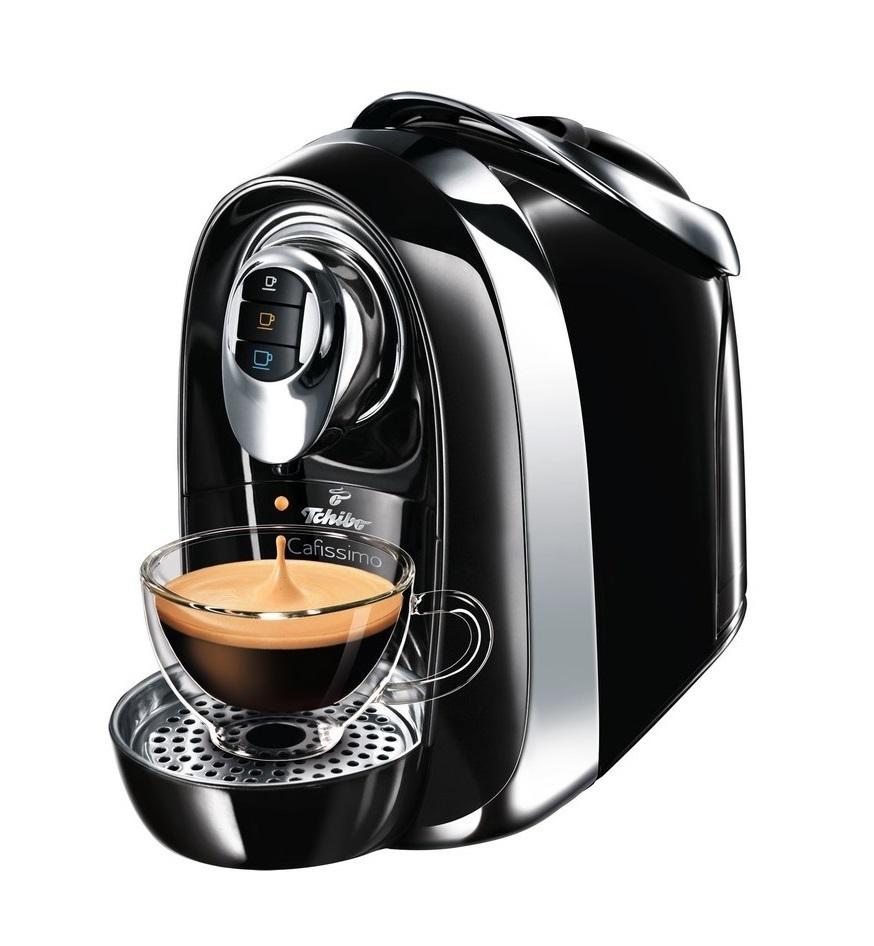Капсульная кофемашина Tchibo Cafissimo Compact black