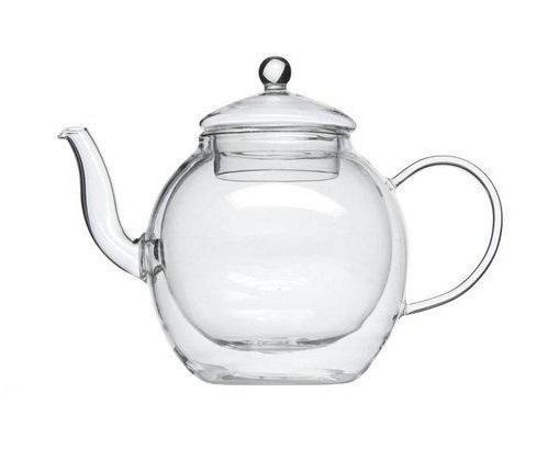 Чайник стеклянный Bredemeijer Duo Roma Grande с двойными стенками, 1 л.