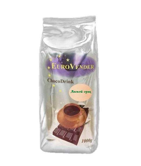 Горячий шоколад EuroVender Ореховый 1,0 кг.