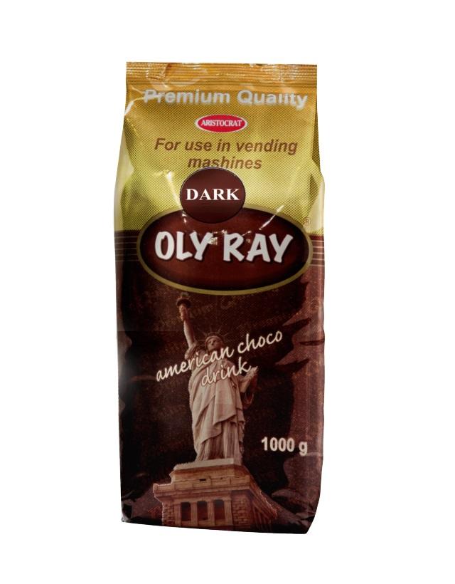 Горячий шоколад OLY RAY Dark 1,0 кг.
