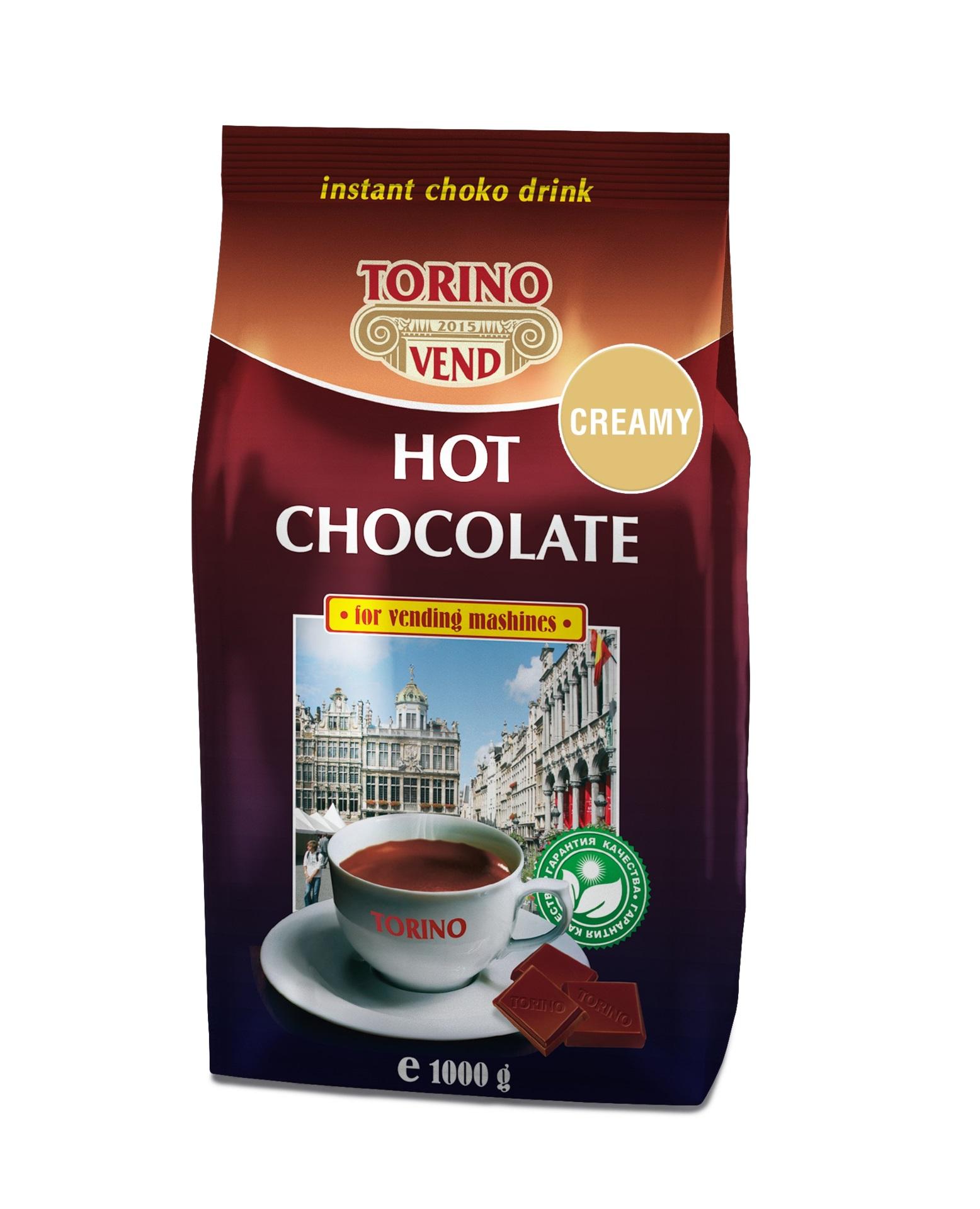 Горячий шоколад TORINO Creamy 1,0 кг.