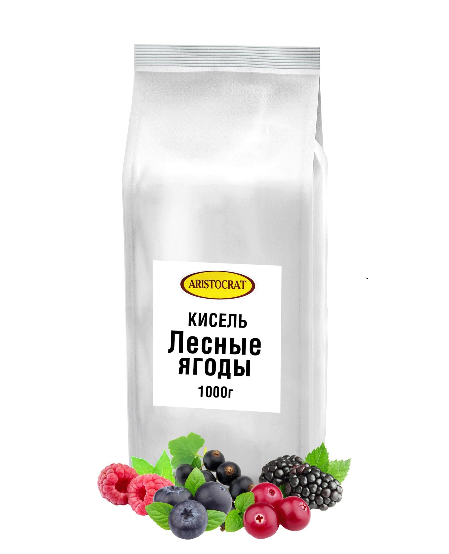 Кисель ARISTOCRAT Лесные ягоды 1,0 кг.