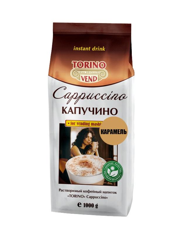 Кофейный напиток TORINO Капучино Карамель 1,0 кг