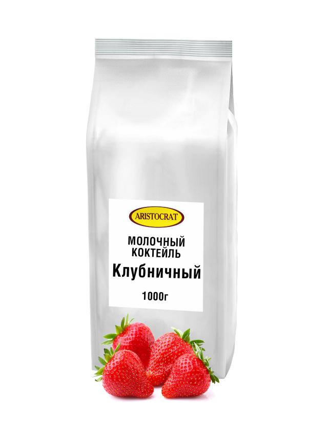 Молочный коктейль ARISTOCRAT Клубничный 1,0 кг.