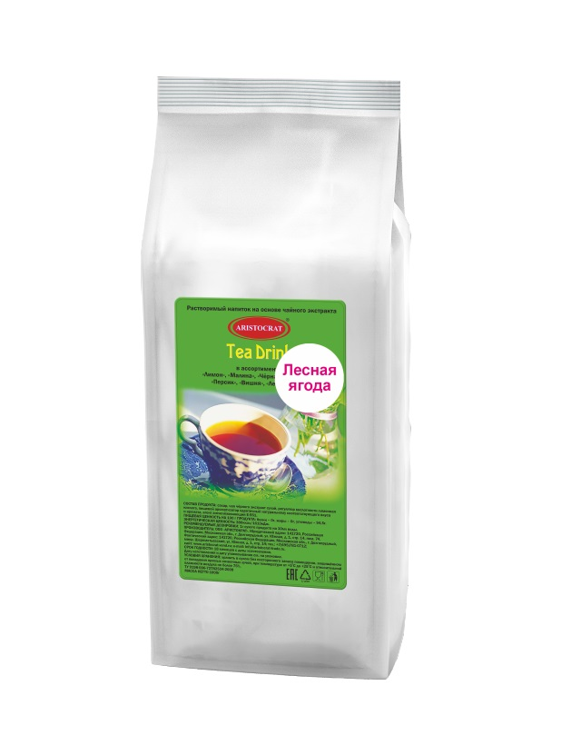 Растворимый чайный напиток ARISTOCRAT Tea Drink Лесная ягода 1,0 кг.