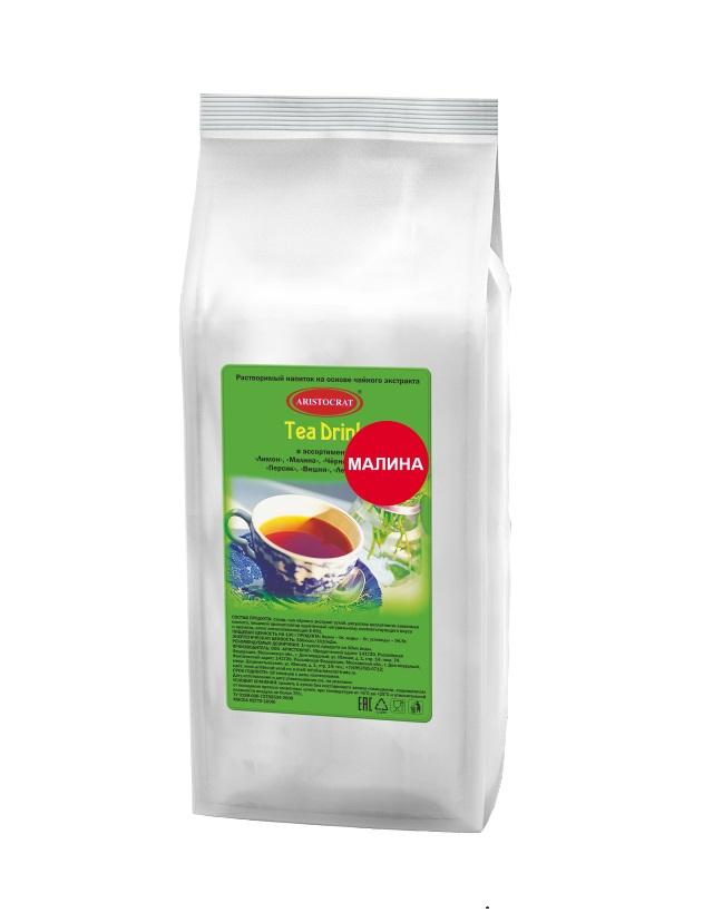 Растворимый чайный напиток ARISTOCRAT Tea Drink Малина 1,0 кг.