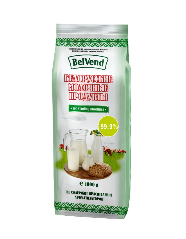 Сухой молочный продукт BelVend 99,99 процентов, 1,0 кг.