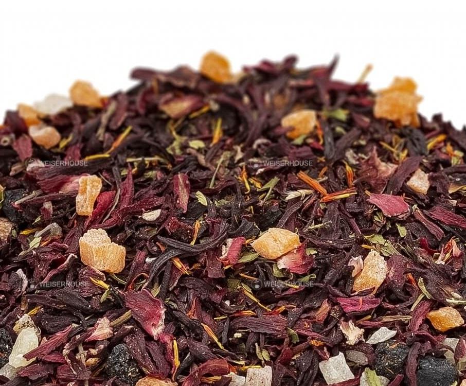 Чай Grunberg «Малиновый лёд» (фруктовый чай), упаковка 250 гр