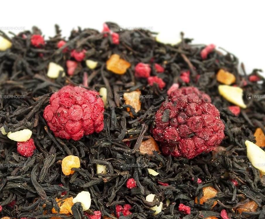 Чай Grunberg «Малиновый сад» (черный ароматизированный), упаковка 250 гр
