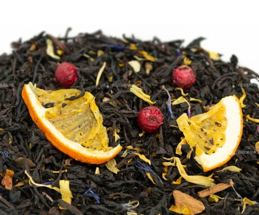 Чай Grunberg «Старая Британия» (черный ароматизированный), упаковка 250 гр.