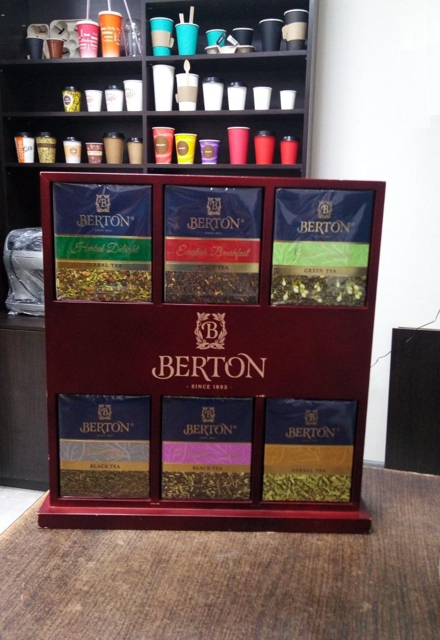 Чай Berton в ассортименте