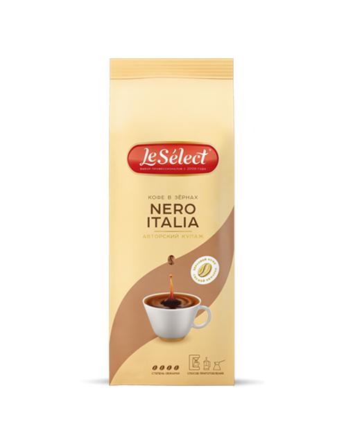 Кофе в зёрнах LeSelect Nero Italia 1 кг