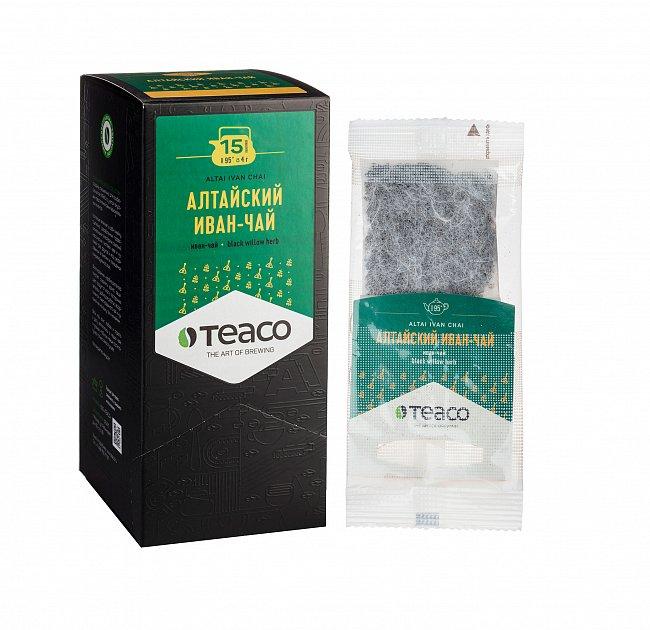 Чай Teaco АЛТАЙСКИЙ ИВАН-ЧАЙ пакетированный, для заваривания в чайнике