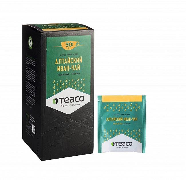 Чай Teaco АЛТАЙСКИЙ ИВАН-ЧАЙ пакетированный, для заваривания в чашке